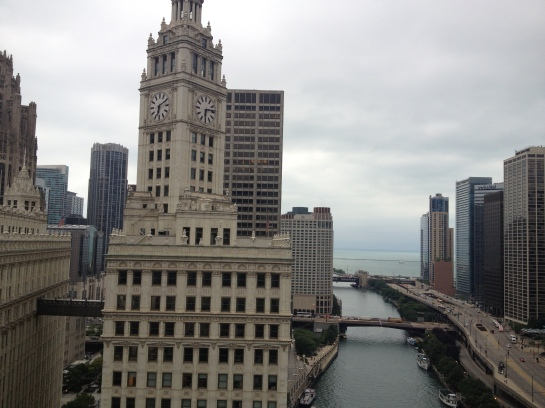View from Trump Tower
