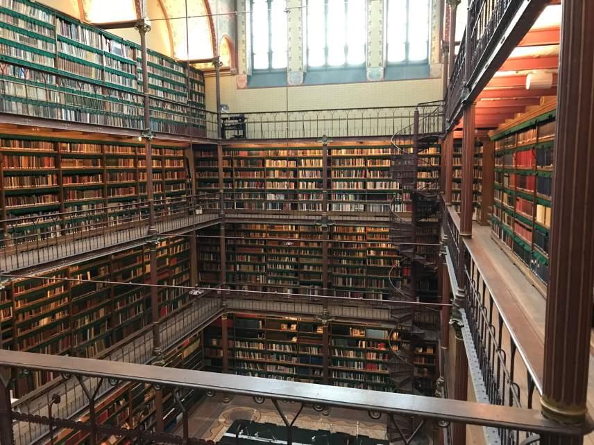 Ams Rijksmuseum Library