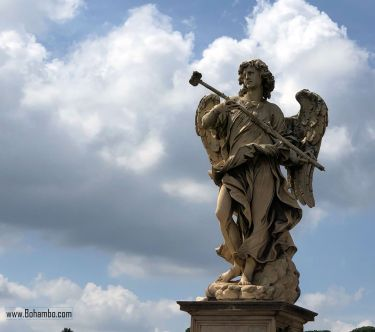 Angel Statue by Bernini
