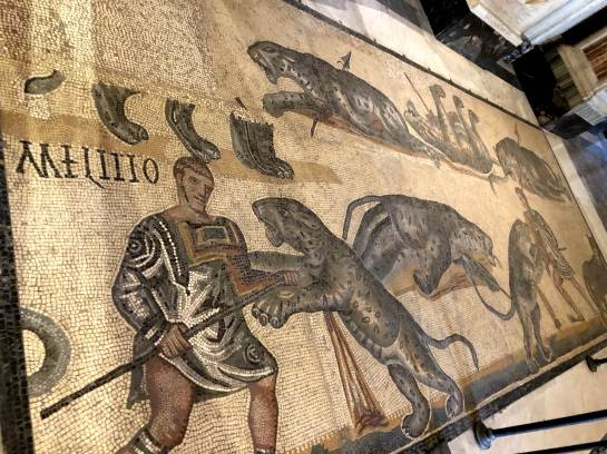 Borghese Gallery Mosaic