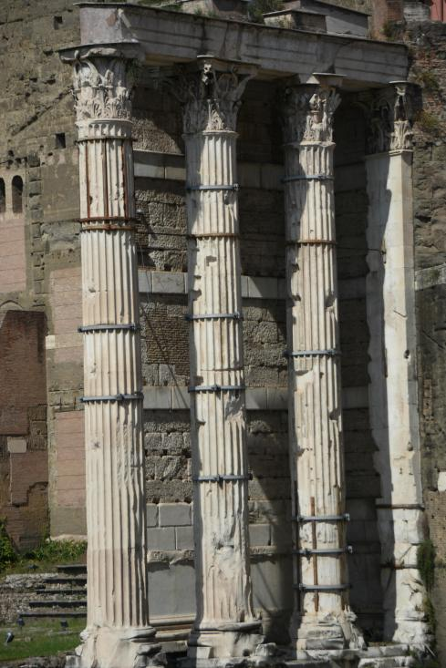 Columns of the Forum