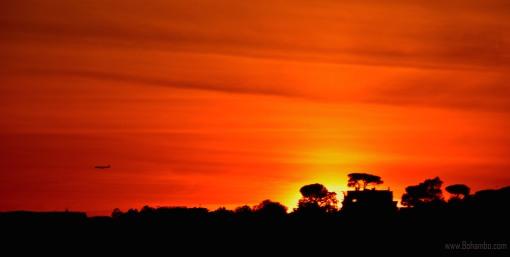 Sunset from Pincio Gardens