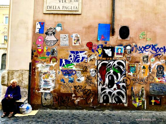 Graffiti in Trastavere