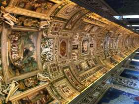 Vatican Hallway to Sistine Chapel