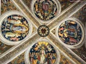 Vatican Raphael Rooms Ceiling