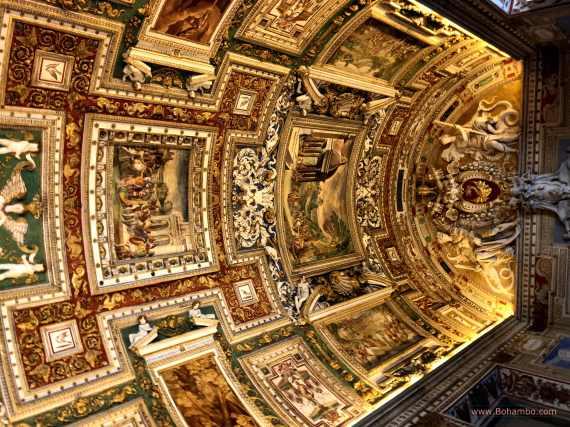 Vatican Vaulted Ceilings