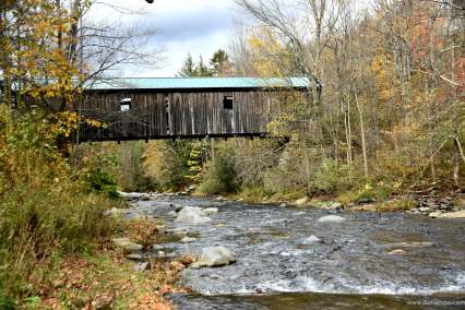 Grist Mill Covered Bridge Side