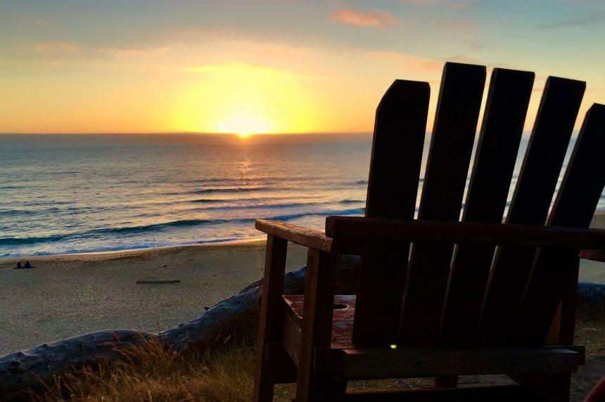 Halfmoon Bay Sunset