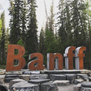 Enter the Town of Banff