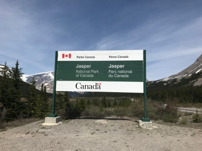 Jasper National Park Entrance