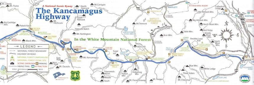 Kancamagus Map