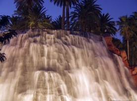 Waterfall in Mirage