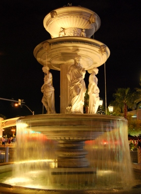 Water fountain in Venetian